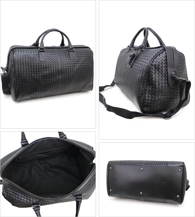 2f65579ab3a9 Bottega Veneta duffle bags BOTTEGA VENETA bag black 152229 V4651 1000 men  intrecciato calf