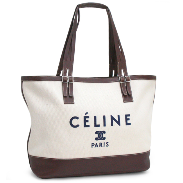 cutiespy  Entering celine bag CELINE tote bag white system canvas logo tote  bag 168582  c755e8eca0fd5