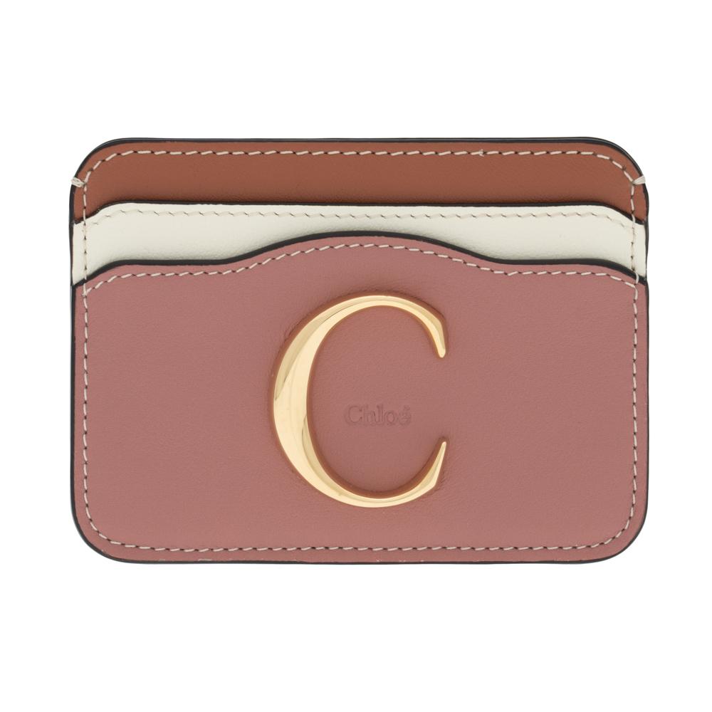 クロエ カードケース カードホルダー Chloe クロエ シー CHLOE C レディース ラスティピンク CHC20SP085H1Z6AC CARD HOLDRS Rusty Pink レザー 革 ギフト プレゼント