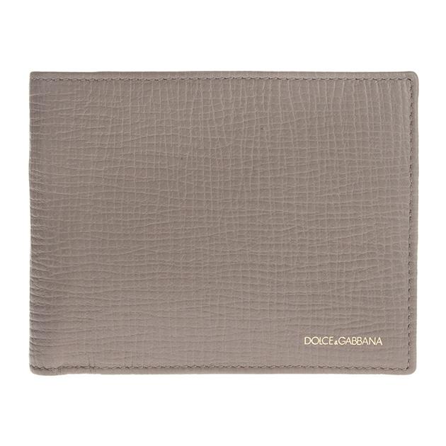 ドルチェ 財布 ドルガバ 二つ折り財布 メンズ レザー BP0457 A1503 80032 アッシュブラウン DOLCE&GABBANA