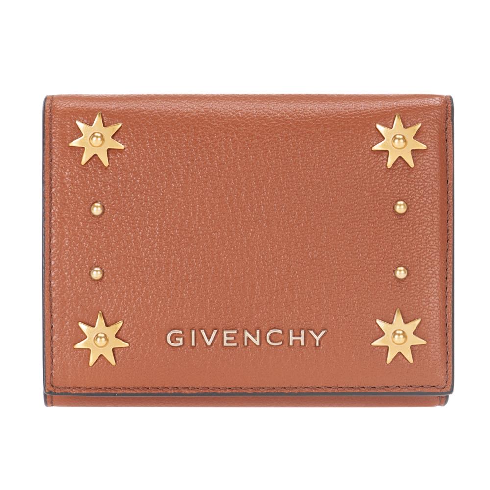 ジバンシー GIVENCHY 財布 三つ折り財布 メンズ レディース BB6007B03C PANDORA パンドラ CHESTNUT ブラウン系 コンパクト ミニ財布