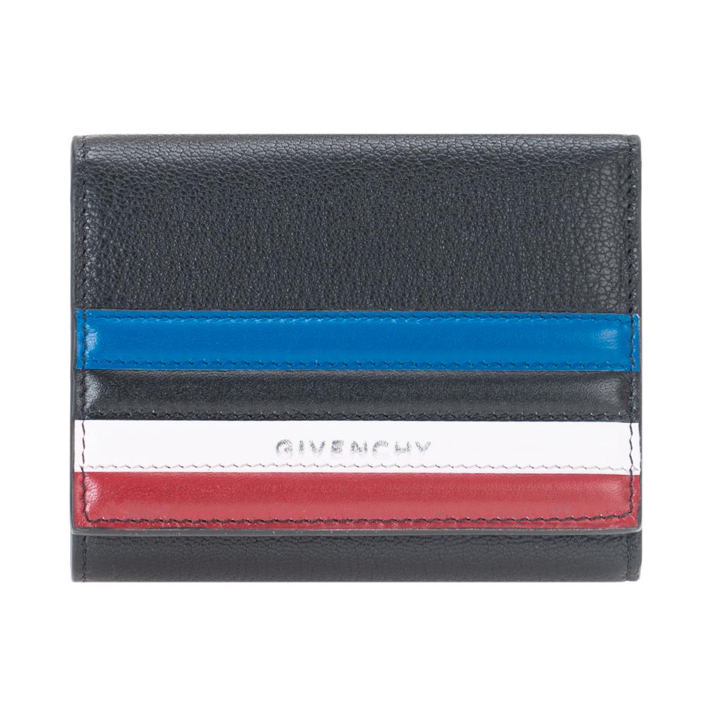ジバンシー GIVENCHY 財布 三つ折り財布 レディース メンズ BB6007B06F PANDORA パンドラ NOIR ブラック コンパクト ミニ財布 レザー 革