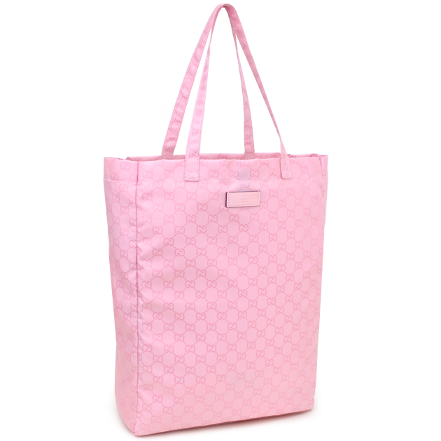 52a7a2bea75d 281487 FJ7DN 8661 light pink nylon with the gucci GUCCI bag GG pattern tote  bag baby ...
