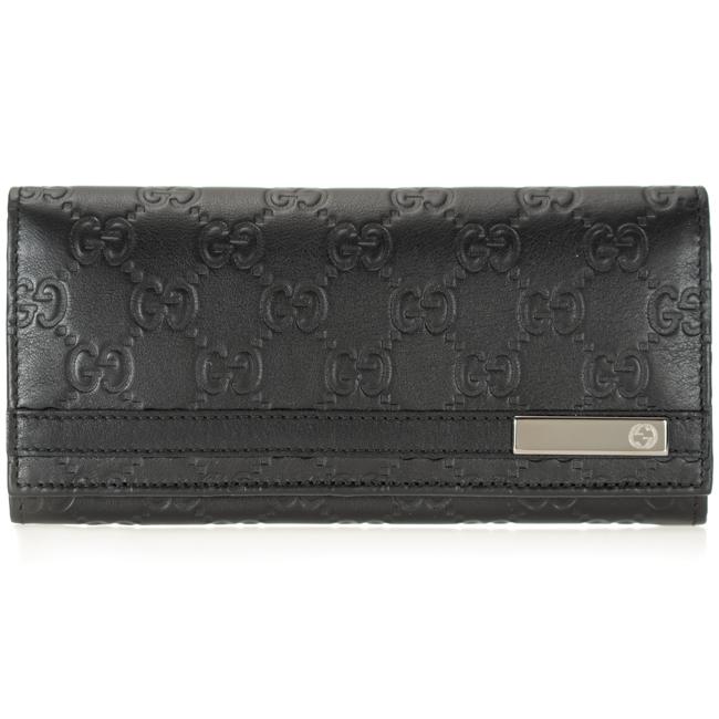 グッチ 財布 GUCCI 二つ折り長財布 メンズ ブラック レザー 233112 AA61R 1000 送料無料