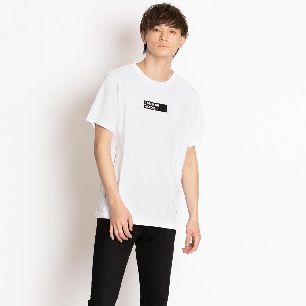 モンクレール ジーニアス Tシャツ カットソー 7 MONCLER FRAGMENT HIROSHI FUJIWARA GENIUS フラグメント 藤原ヒロシ プリント ロゴ ホワイト サイズM 8003050 8391Q 001 MAGLIA T-SHIRT メンズ 半袖 コットン