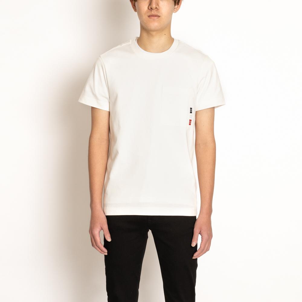 モンクレール メンズ Tシャツ 半袖 MONCLER トップス カットソー ホワイト 8390T 春夏 004 18%OFF 8049000 送料無料激安祭 白