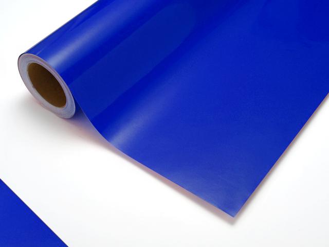 【タフカル 透明タイプ】4515C イタリアンブルー F寸/1010mm幅×20m(ロール)