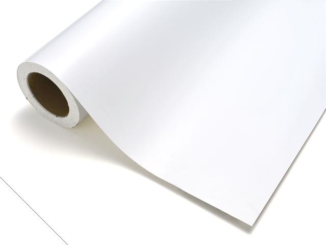 【タフカル 不透明タイプ】4711W ホワイト(裏白) F寸/1010mm幅×20m(ロール)