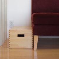 岩手の職人技術 毎週更新 収納ボックス T-BOX フタ付き お中元 収納 猫