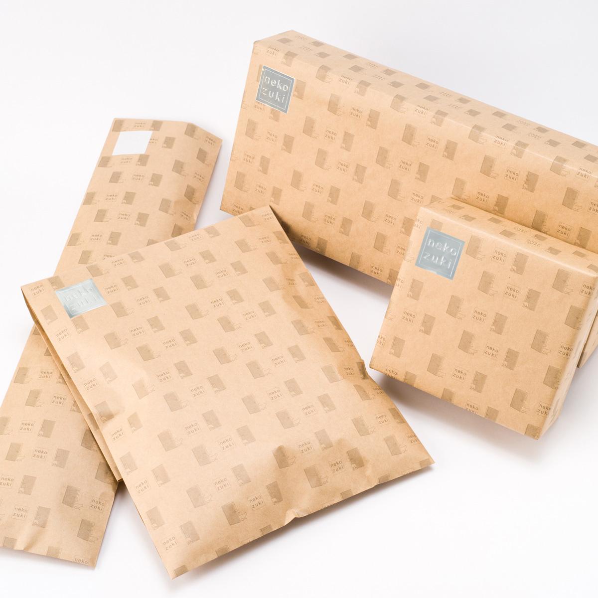 大切な猫ちゃんへ心を込めた贈り物を ハンドメイドラッピングはラッピングご希望の商品にあわせて1つ1つ袋を手作りします ギフト包装 包装 定番 ラッピング 売り込み 猫