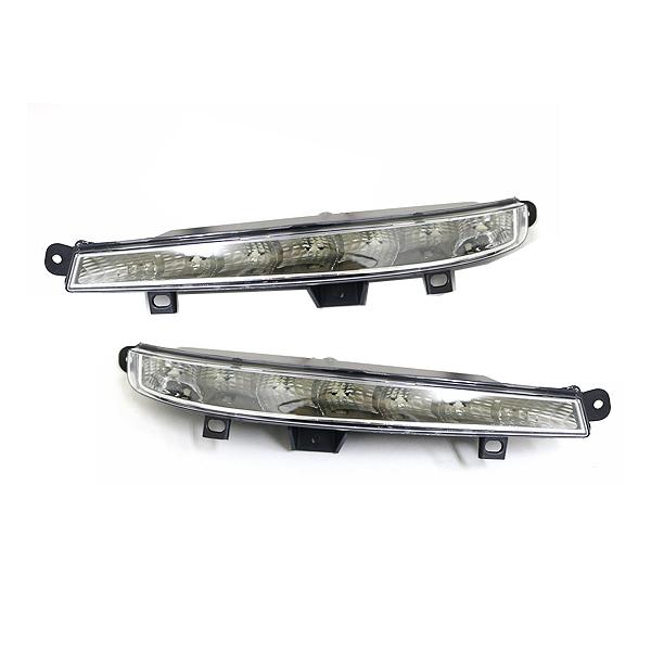 【送料無料】 LED デイライト フォグランプ ベンツ W221 S63 S65タイプ適合 【フロント フォグライト エアロ バンパー 後付け ドレスアップ 】