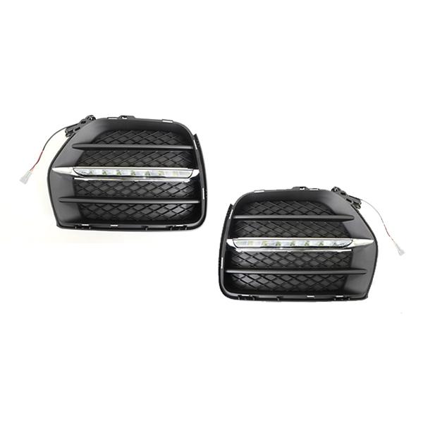 【送料無料】 LED デイライト フォグランプ 抵抗付き BMW X6 グリル E71 E72 【フロント フォグライト エアロ バンパー 後付け ドレスアップ 】