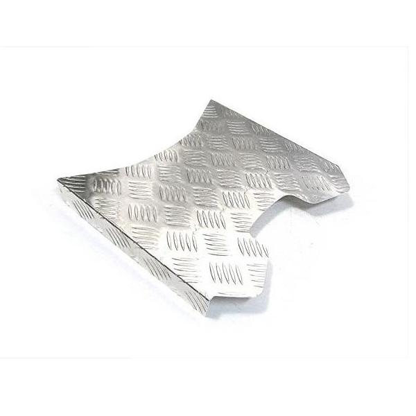 送料無料 アルミステップボード ジャイロUP アルミ縞鋼板 HONDA ホンダ バイク カスタム アルミステップボードパネル パーツ アクセサリー