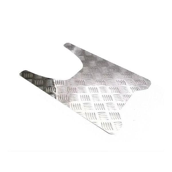 送料無料 アルミステップボード ジャイロキャノピー アルミ縞鋼板 HONDA ホンダ バイク カスタム アルミステップボードパネル パーツ アクセサリー