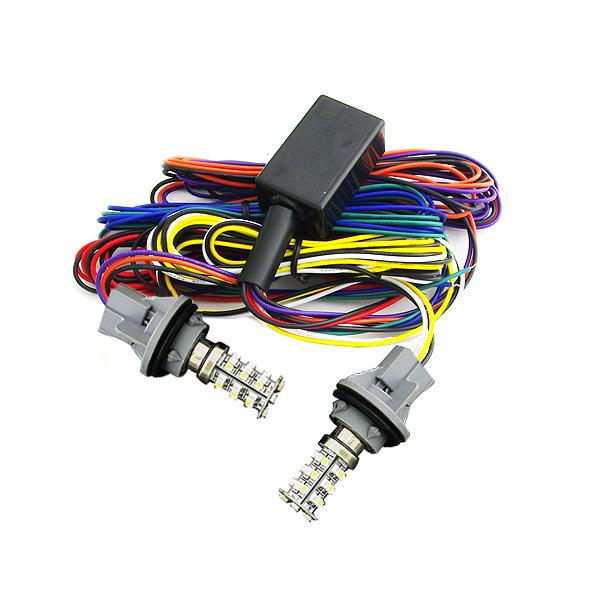 ウインカーポジション化キット オデッセイ RB1 RB2 マルチカラーSMD72連 白(ホワイト)⇔橙(アンバー) ウィンカーポジションキット/ウインカーポジションキット/ウィンカーポジション点灯キット/ウィンカー点灯キット/ウインカー点灯キット