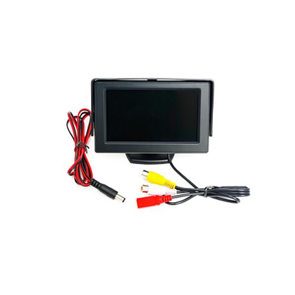 4.3インチ バックカメラ用 モニター オンダッシュモニター バックモニター バックカメラモニター/バックモニター/リアモニター 車載モニター