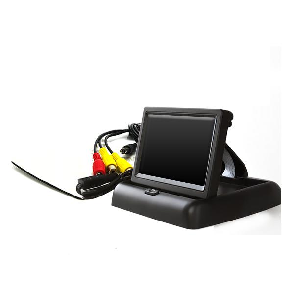 4.3インチ バックカメラ用 モニター ポップアップモニター バックモニター バックカメラモニター/バックモニター/リアモニター 車載モニター
