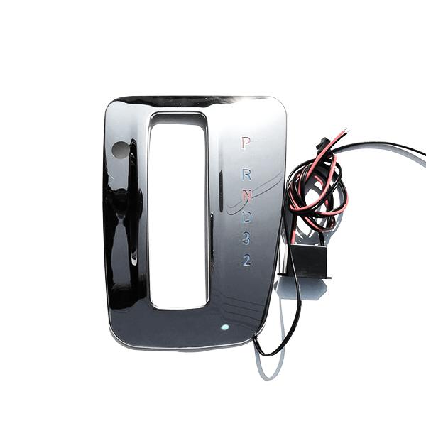 送料無料 シフトゲート用 LEDパネル 日産 キャラバン NV350 E26 LEDシフトパネル メッキパネル LED 内装 カスタム LEDイルミ イルミネーション シフトイルミ