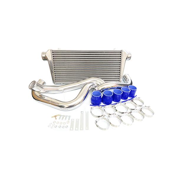 日産 R32 スカイライン RB25DET インタークーラーセット 【インター クーラー コア パイピング ホース など 冷却 パーツ メンテナンス 整備 DIY アルミ製 フル パイピング キットセット などお探しの方に】