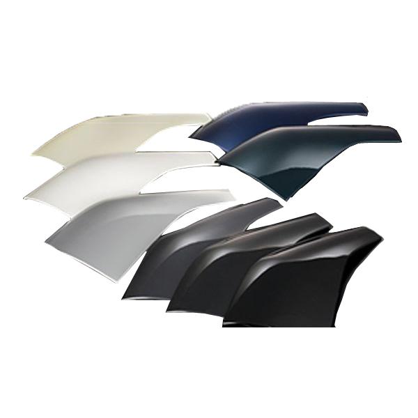 シルクブレイズ SilkBlaze純正 フェンダースムージングパネル トヨタ ハイエース TRH KDH 200系 1型 2型 3型 4型 前期 後期 標準 ワイド フロント アンダーミラー スムージング フェンダーパネル 両面テープ付き 簡単設計 エアロ ドレスアップ DIY