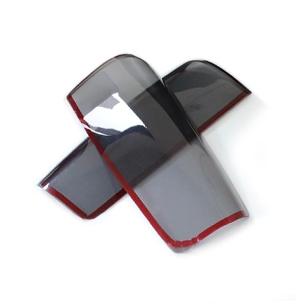 取付簡単な純正交換タイプ 永遠の定番 車種別専用設計 スモークカバー テールランプ用 ジムニー JB23 ブラックアウト化 UVカット ライト バック お気に入り リア カバー 外装 黒 テーパー加工 ストップ アクリル ブレーキ カスタム エアロ ドレスアップ