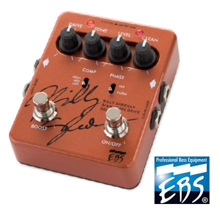 【楽器】EBS Billy Sheehan Signature Drive DELUXE / ビリーシーン シグネチャー ドライブ デラックス