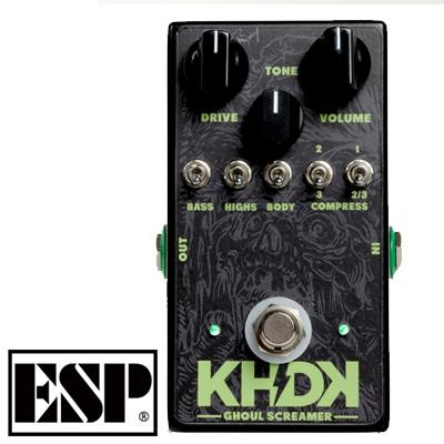 【楽器】ESP KHDK Kirk Hammett Overdrive Ghoul Screamer / カーク・ハメット シグネチャー オーバードライブ グールスクリーマー