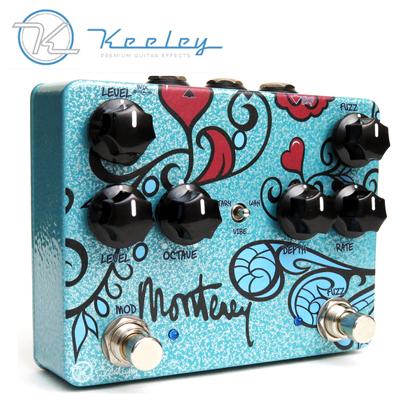 【楽器】Keeley Electronics MontereyRotaryFuzzVibe / キーリーエレクトロニクス モントレーロータリーファズバイブ