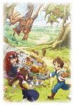 モンスターハンター ストーリーズ RIDE ON Blu-ray BOX Vol.4 (本編279分)[TBR-27034D]【発売日】2017/12/13【Blu-rayDisc】