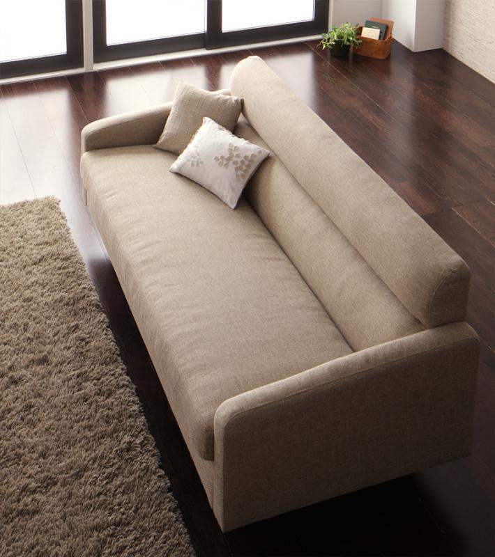 ソファー 幅180cm ベージュ スタンダードソファ【OLIVEA】オリヴィア【代引不可】