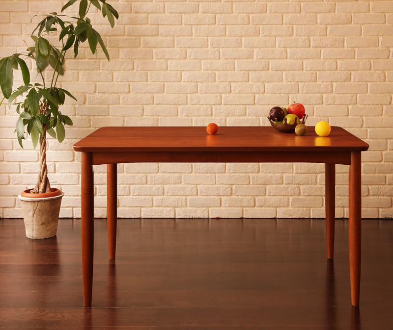 【単品】ダイニングテーブル 幅120cm【BULT】レトロモダンカフェテイスト リビングダイニング【BULT】ブルト ウォールナット材テーブル