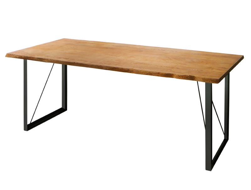 【単品】ダイニングテーブル 幅180cm【Pittsburgh】アメリカンオーク無垢材ヴィンテージデザインダイニング【Pittsburgh】ピッツバーグ【代引不可】