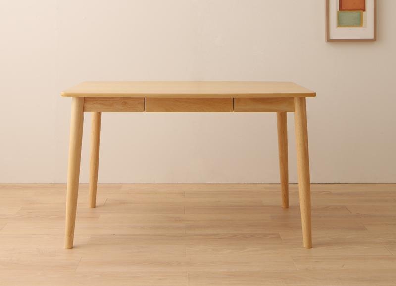 【単品】ダイニングテーブル 幅115cm ナチュラル ファミリー向け タモ材 ダイニング Uranus ウラノス