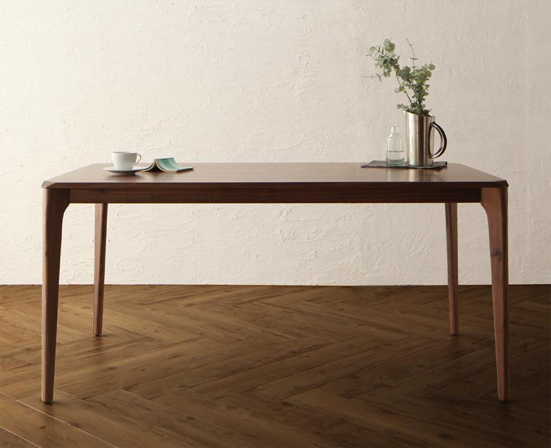 【単品】ダイニングテーブル 幅150cm 天然木 ウォールナット無垢材 ダイニング Virgo バルゴ