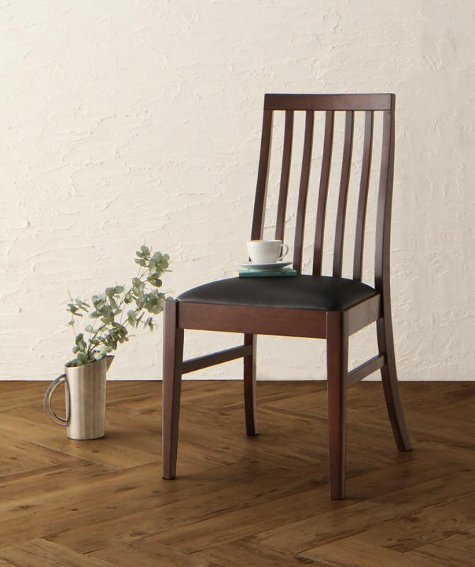 【テーブルなし】チェア2脚セット 座面カラー:ホワイト 天然木 ウォールナット無垢材 ハイバックチェア ダイニング Virgo バルゴ