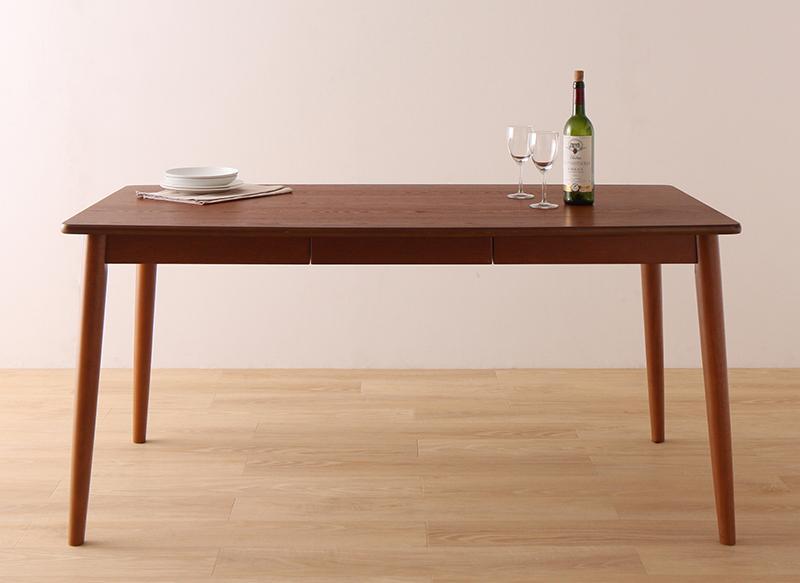 【単品】ダイニングテーブル 幅150cm ブラウン ダイニング fassio ファシオ【代引不可】