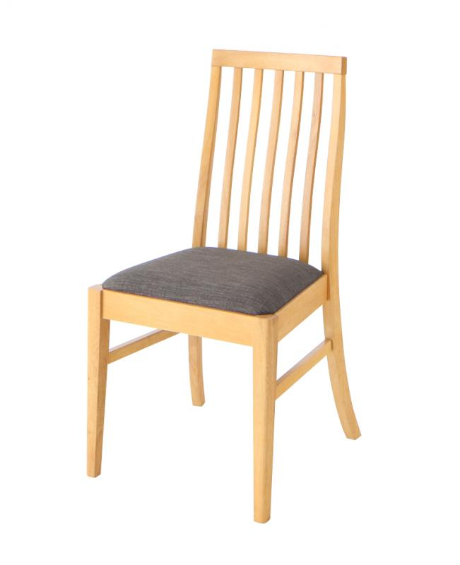 【テーブルなし】チェア2脚セット 座面カラー:チャコールグレー 新婚カップル向け ハイバックチェア ダイニング Themis テミス