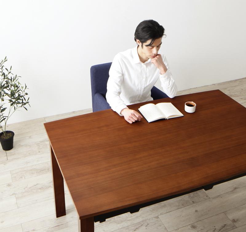 ウォールナット材 伸縮式 モダンデザインダイニング MADAX マダックス ダイニングテーブル W140-240