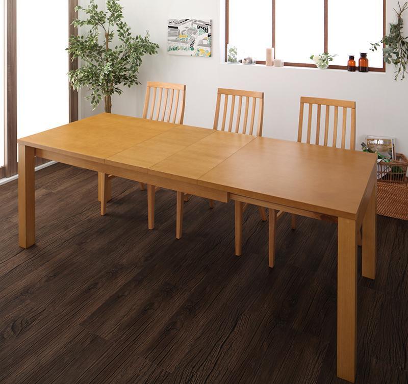 暮らしに合わせて使える 3段階伸縮ハイバックチェアダイニング Costa コスタ ダイニングテーブル W150-210