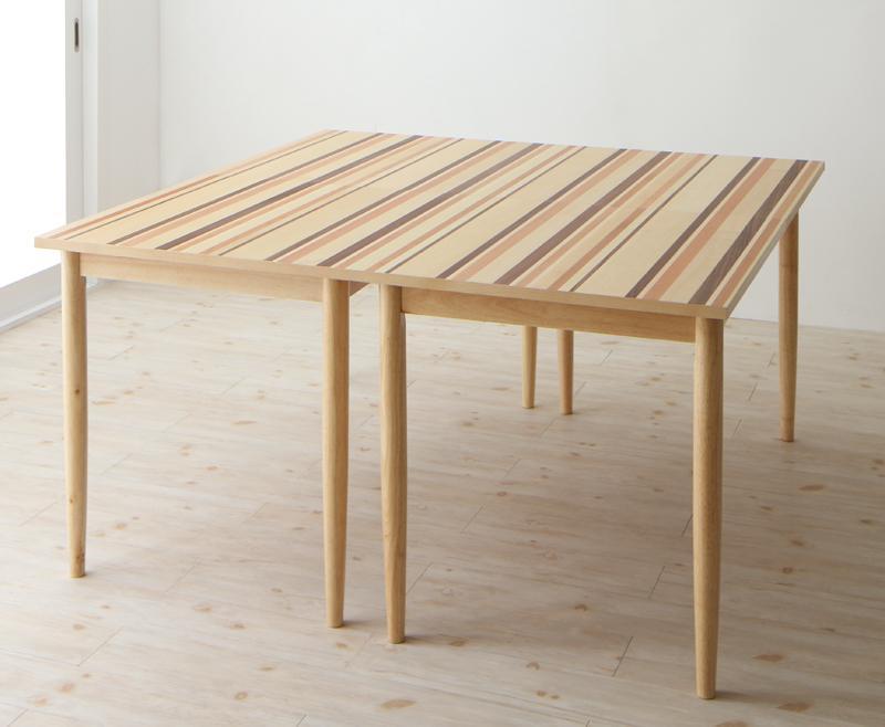 最大210cm 分割できる 北欧テイスト ダイニングテーブル Foral フォーラル 奥行140cmタイプ W140