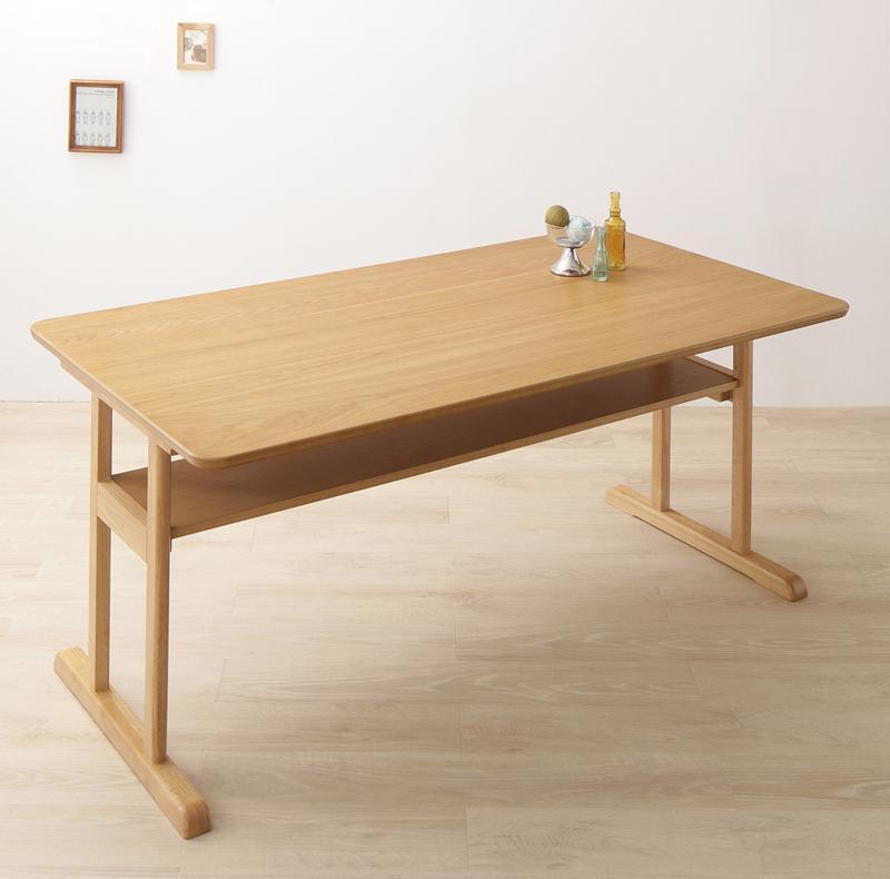 回転イス付き 北欧デザイン2本脚ダイニングテーブルセット woda ヴォダ ダイニングテーブル W150