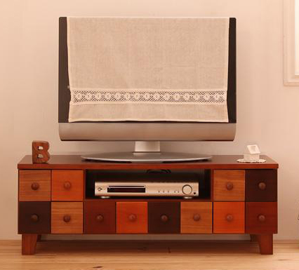 ローボード(テレビ台/テレビボード) 幅90cm 天然木北欧デザインテレビボード【Bisca】ビスカ【代引不可】