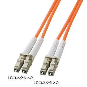 パソコン周辺機器 ケーブル サンワサプライ 賜物 光ファイバケーブル HKB-LCLC5-10L 当店一番人気