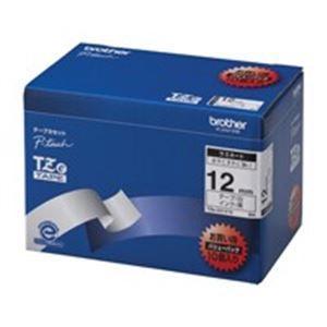 brother ブラザー工業 文字テープ/ラベルプリンター用テープ 【幅:12mm】 10個入り TZe-231V 10 白に黒文字
