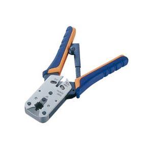 エレコム ラチェットタイプ コネクタかしめ工具 RJ45用 LD-KKTP2 1個