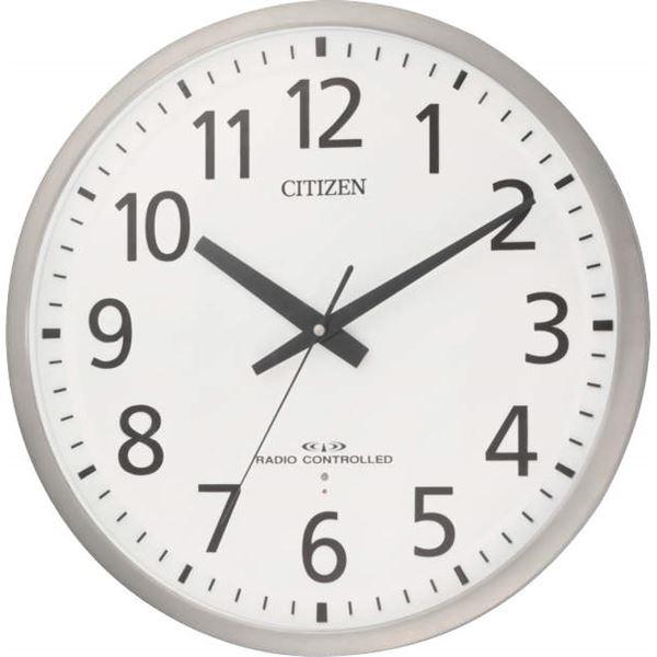 電波時計 アナログ 壁掛け スペイシーM463