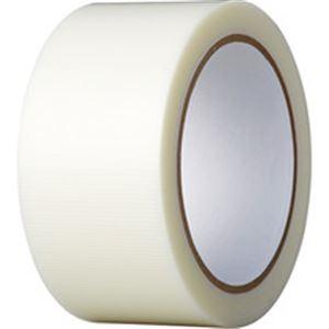 (まとめ)養生テープ 50mmx25m 透明