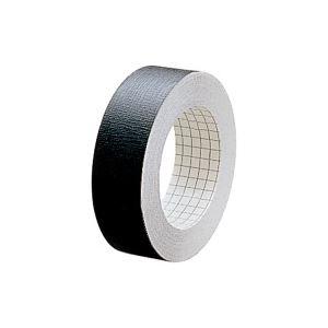 (業務用100セット) プラス 製本テープ/紙クロステープ 【25mm×12m】 裏面方眼付き AT-025JC 黒