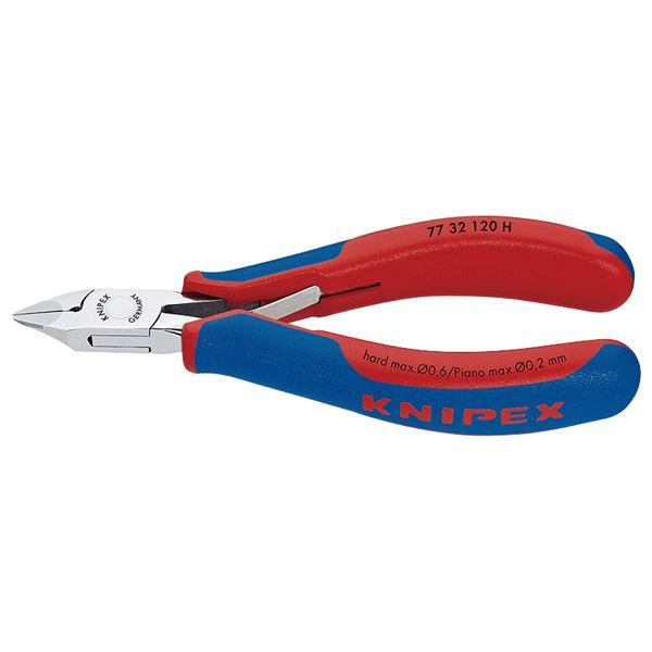 KNIPEX(クニペックス)7732-120H 超硬刃エレクトロニクスニッパー