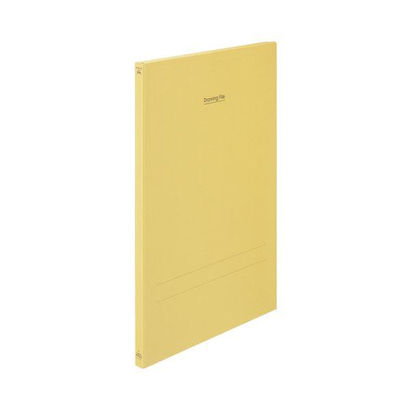 (まとめ) コクヨ 図面ファイル(クラフトタイプ) A1 2つ折 背幅28mm セ-FC26 1冊 【×3セット】